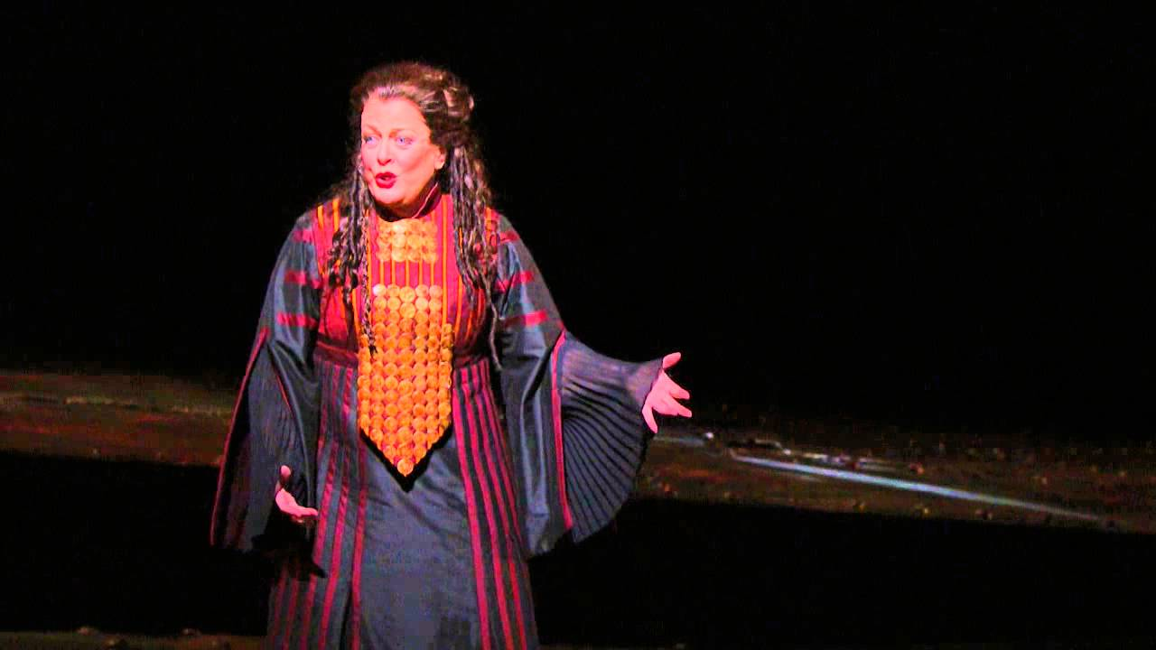 "Les Troyens: ""Malheureux Roi!"" -- Deborah Voigt (Met Opera)"
