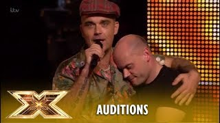 Robbie Williams Makes Andy Hofton´s Dream Come True! | The X Factor UK 2018