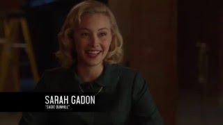 За кулисами сериала 11.22.63: Сара Гадон (Сейди Данхилл) русская озвучка