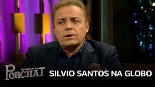 Gugu lembra que pediu dinheiro emprestado de Silvio Santos após reunião com Roberto Marinho