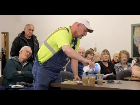Farmer Invites Politicians To Drink Fracking Water