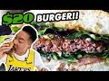 IS THIS $20 BURGER EVEN WORTH IT?! // Fung Bros