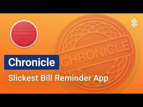 Chronicle – Greatest Bill Organizer for Mac | SETAPP