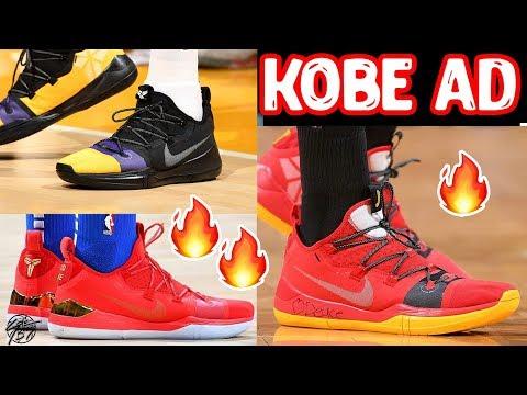 Colorways of the Nike Kobe AD Exodus