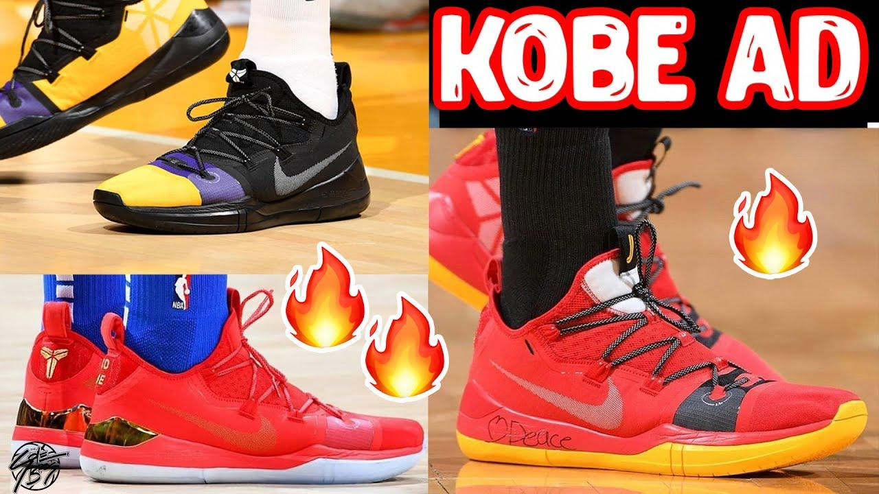 64f7a2fc4160 Top 10 Best PE   Colorways of the Nike Kobe AD Exodus! - YouTube