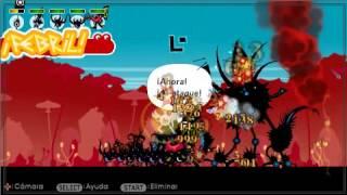 Patapon 2: Vencer a Zuttankarmen Nivel 100+