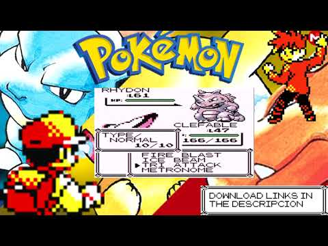 Download Pokemon Red,Blue and Yellow 3DS cia [Región Free] [MEGA]