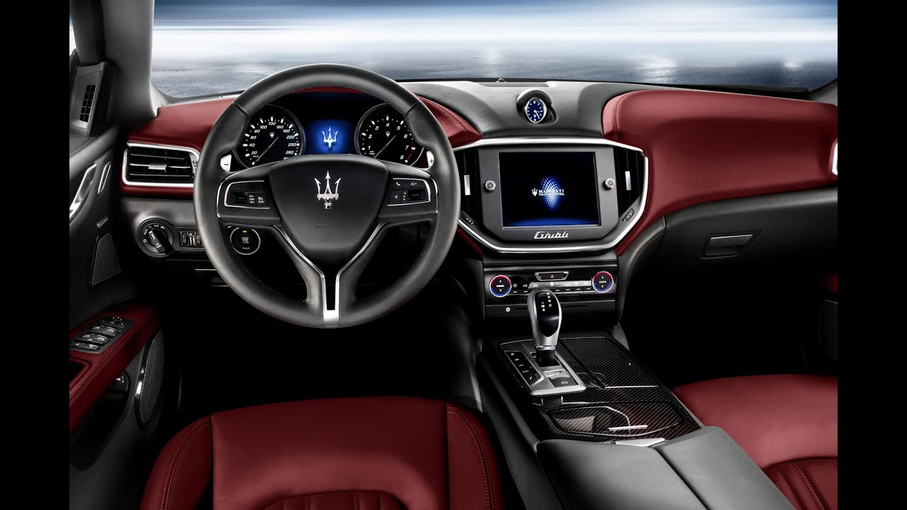 2016 maserati ghibili interior exterior review youtube. Black Bedroom Furniture Sets. Home Design Ideas