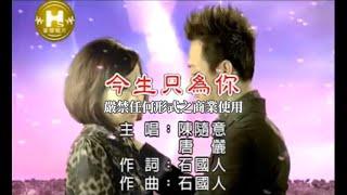 陳隨意VS唐儷-今生只為你(官方KTV版)