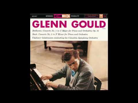 Beethoven Piano Concerto 1 / Glenn Gould, Columbia Symphony Orchestra, V. Golschmann (1958/2015)
