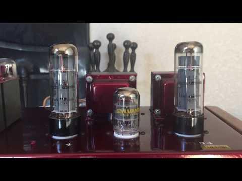Edelweiss-3 amp with Electro-Harmonix EL34 tubes