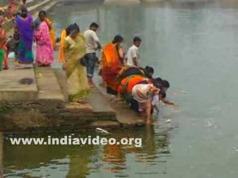 Devotees at Tripura Sundari temple