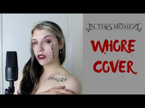 WHORE (In This Moment Vocal Cover) | Katja Macabre