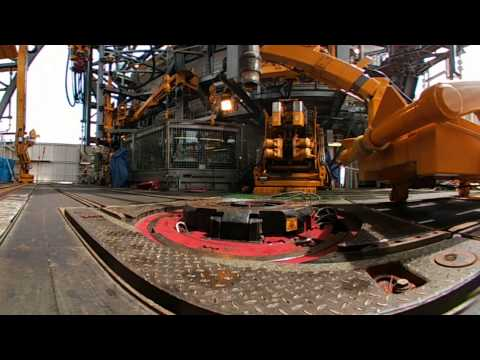 West Aquila Drillship Multi Machine Control Automatic Stand Breaking (360 View)