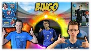 BINGO CHALLENGE | VS PACKSUNITED | ADRENALYN EURO 2016 | PANINI
