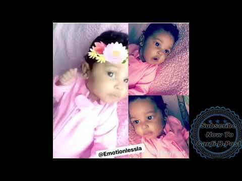 Cardi B Baby Live Instagram Video - July 20 2018