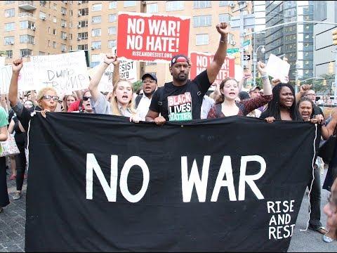 Charlottesville Rally - Rise & Resist - No War - Trump Tower, New York City