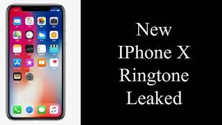 Iphone x original ringtone -