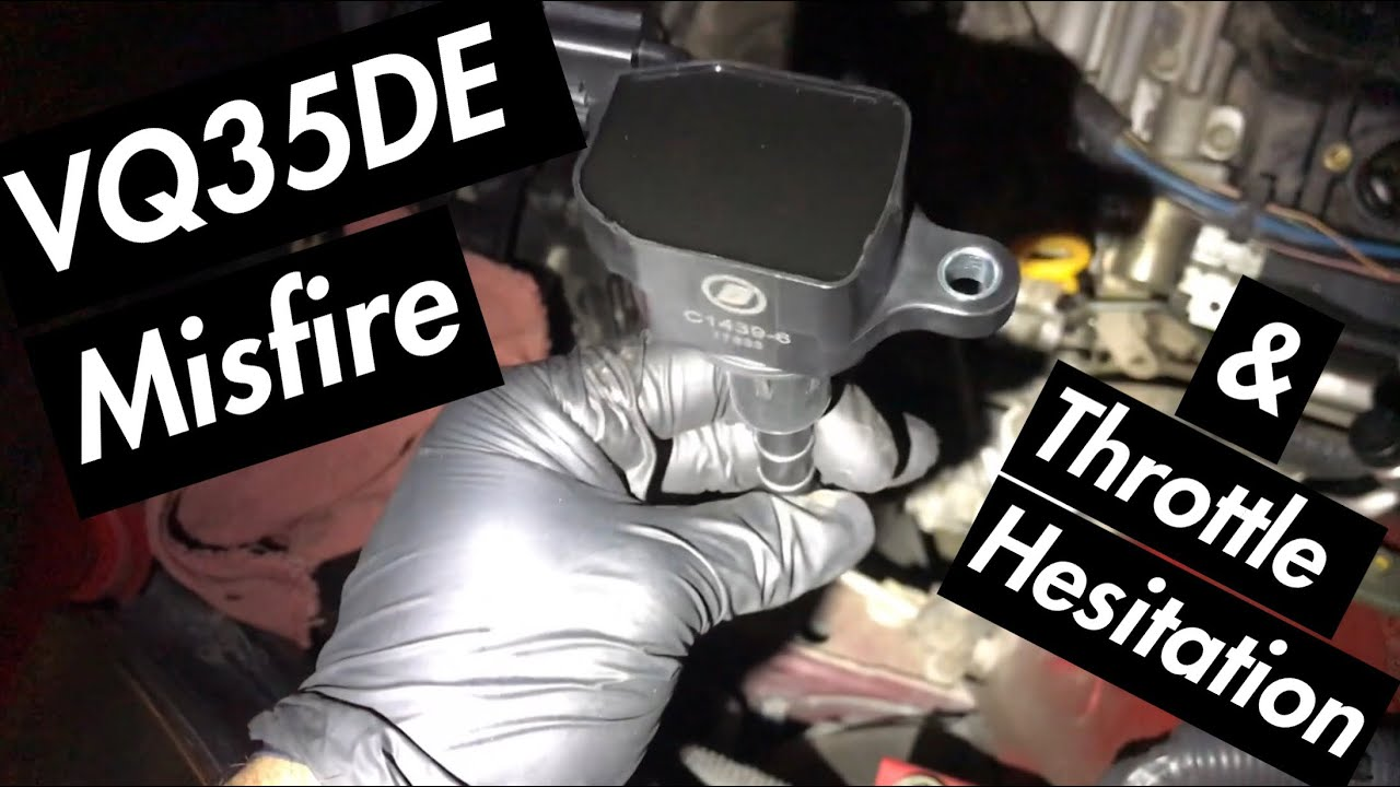 350z / G35 Repairing Misfire P0300, Knock Sensor P0327, & MAF Sensor P0101