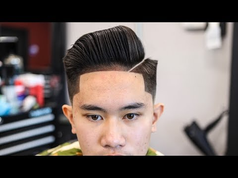mens-haircut-tutorial:-combover-|-blowdry-&-style-|-low-fade-|-enhancements