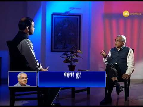 Exclusive Interview with Niti Ayog vice chairman Dr. Rajiv Kumar