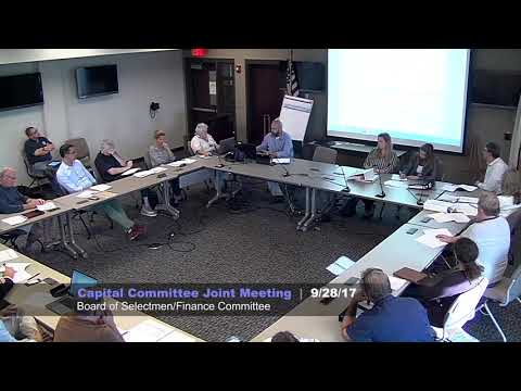 Nantucket Capital Committee Joint Meeting - Board of Selectm