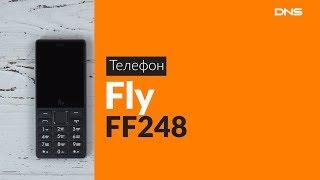 Распаковка сотового телефона Fly FF248 / Unboxing Fly FF248
