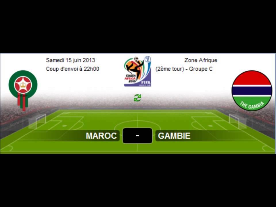maroc vs gambie regarder match en direct maroc vs gambie