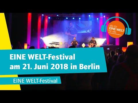 EINE WELT-Festival am 21. Juni 2018 in Berlin