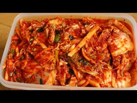 How to make Easy Kimchi (막김치)
