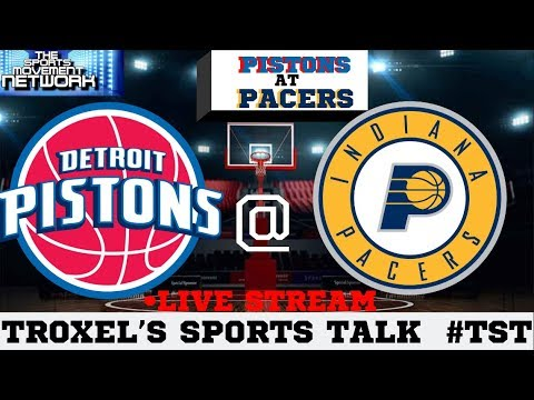 Detroit Pistons AT Indiana Pacers Regular Season Game Audio/Score Only