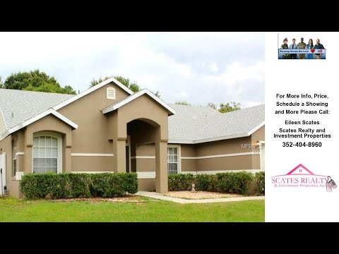 910 HATTERAS AVENUE, MINNEOLA, FL Presented by Eileen Scates.