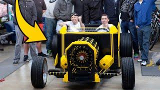 21 LATEK zbudował AUTO z KLOCKÓW LEGO, zasilane POWIETRZEM!