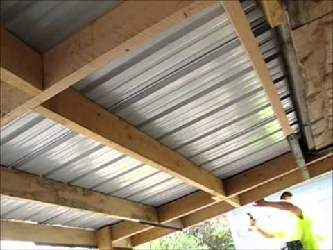 Lawn Mower Shed Finished Youtube