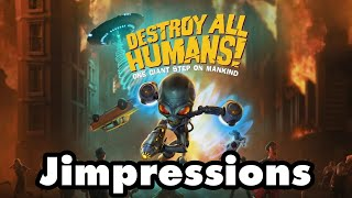 Destroy All Humans - A Great Remake Of A Fun, Unfunny Game (Jimpressions) (Video Game Video Review)