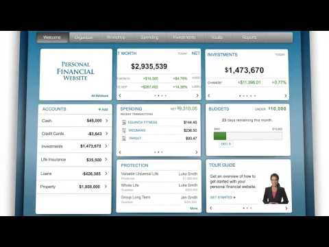 Wealth management technology designed for the corporate executive.