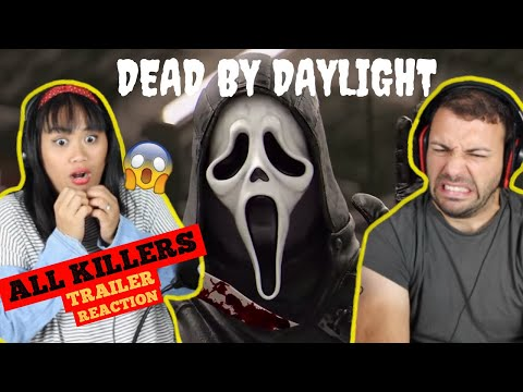 DEAD BY DAYLIGHT ALL KILLERS TRAILER REACTION | We are ready for Halloween! 🎃 |
