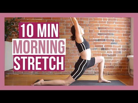 10 min Morning Yoga Stretch - BEST Yoga to Wake Up!