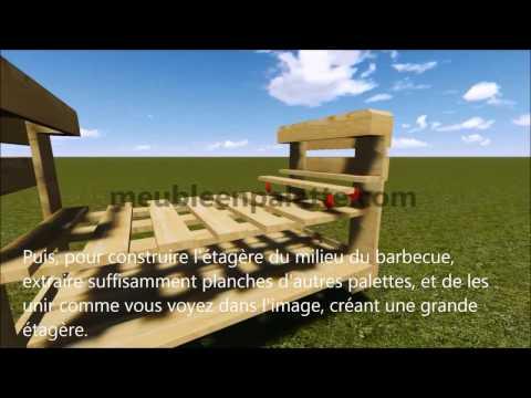 Comment construire un barbecue avec des palettes youtube - Construire avec des palettes ...