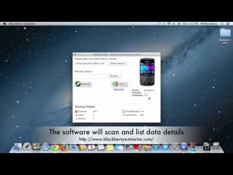 How to open BBB files | Blackberry Extractor