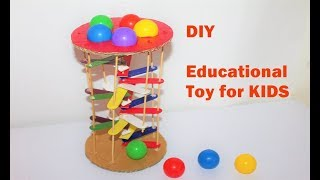 How To Make A Educational Toy For Kids - Learning Colours