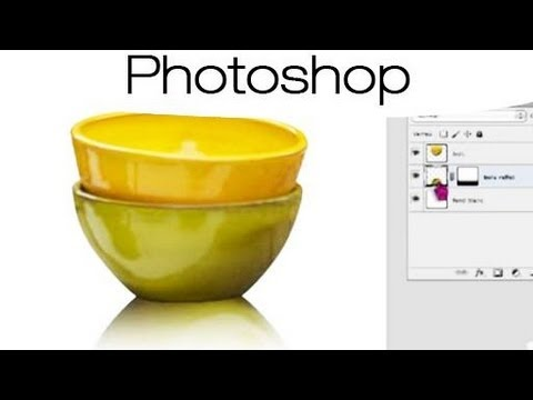 photoshop appliquer l 39 effet miroir youtube