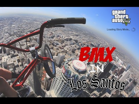 RIDING BMX IN LOS SANTOS!