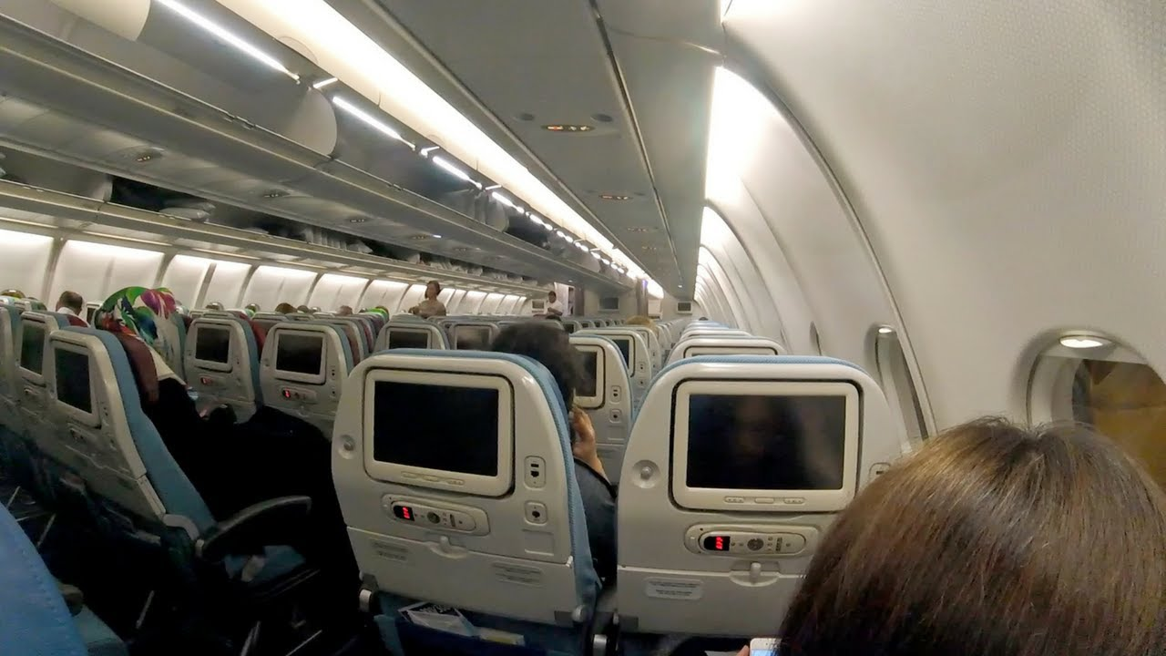 Turkish Airlines A330 300 Economy Class Review Esb Ist
