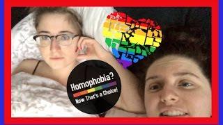 LESBIANS TALK ABOUT TRUMP - VLOG 350 | LESBIAN COUPLE | Shaina Thompson