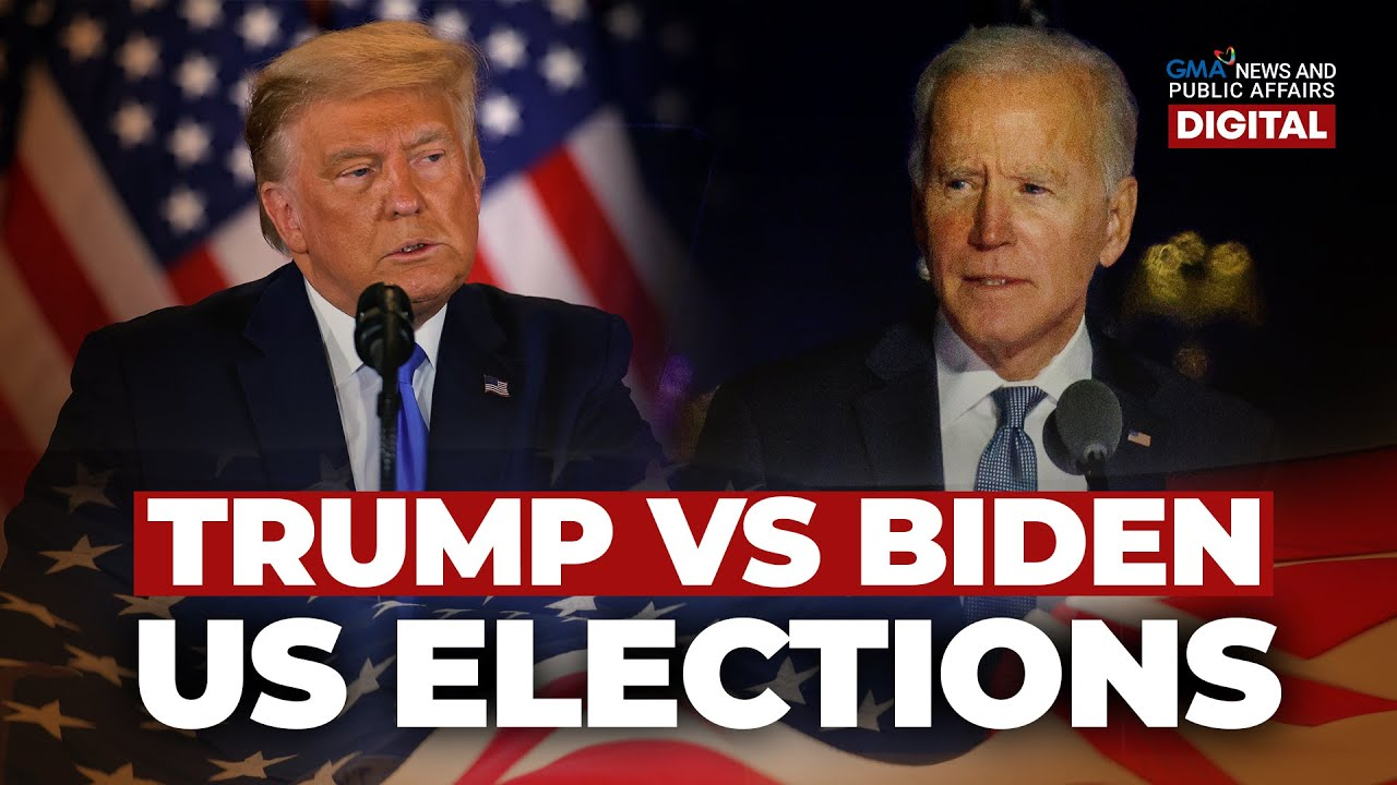 GMA News Feed: Trump vs Biden sa US Elections