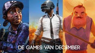 Xbox Games van december