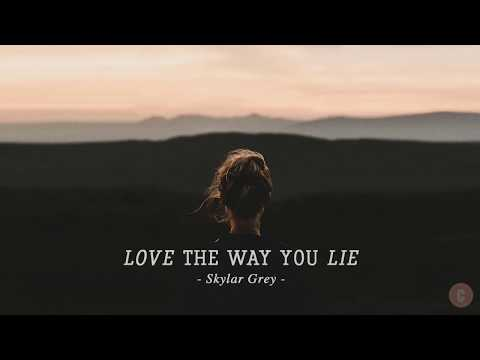 [Vietsub + Lyrics] Love The Way You Lie - Skylar Grey