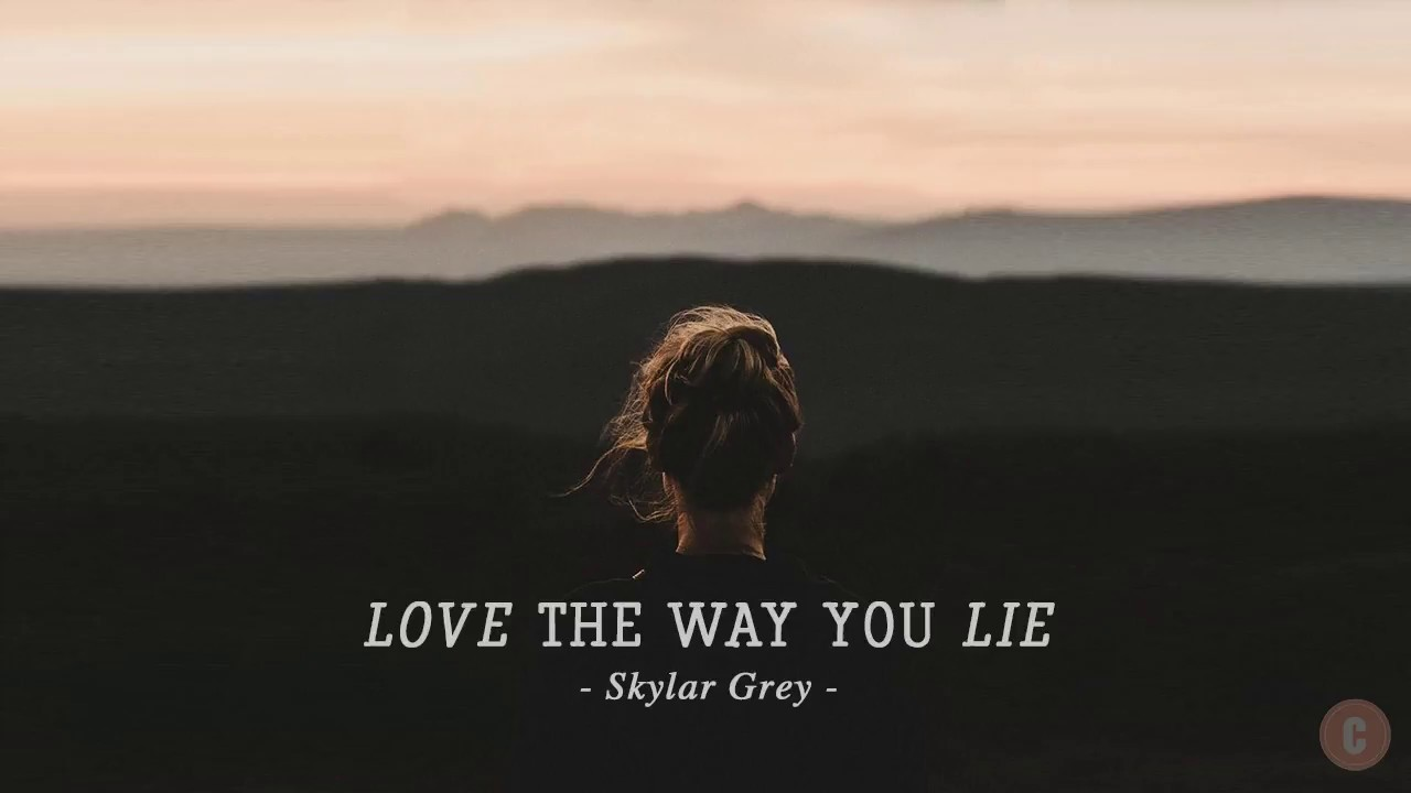 [Vietsub + Lyrics] Love The Way You Lie - Skylar Grey #1