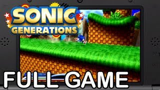 Sonic Generations 3DS - Full Game Playthough